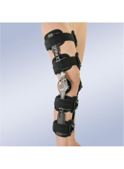 Ортез коленный с регулируемым шарниром и высотой