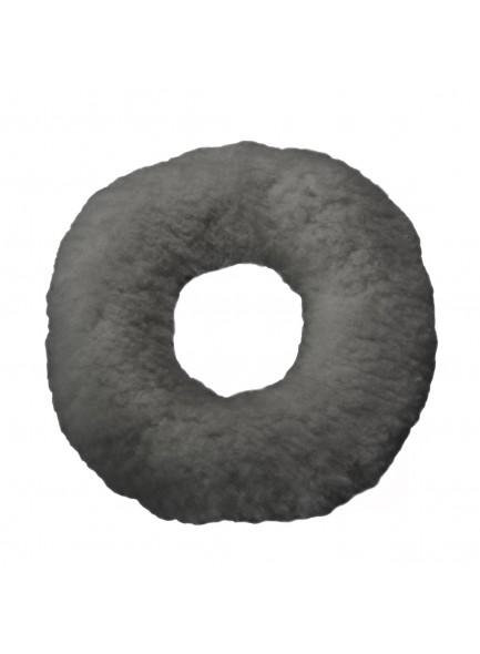 Подушка от пролежней, мягкая круглая с отверстием, серая